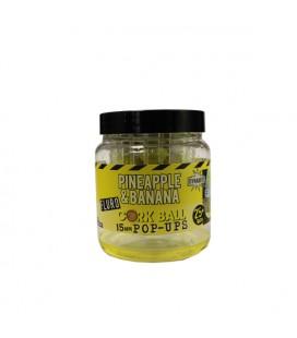 Fluro corcball pop-ups pineaplle&banana  Dynamite 15 mm