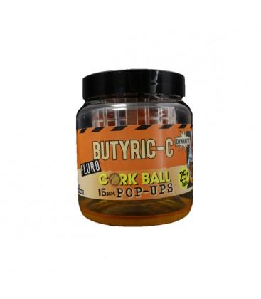 Fluro corcball pop-ups Butyric-C  Dynamite 15 mm