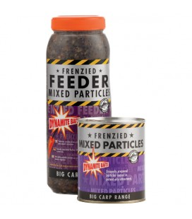 Frenzied Feeder mixed particles 2.5 liter fles